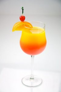 Summertime Cocktails for Serving on a Private Jet
