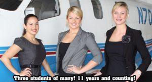 private flight attedant schooling