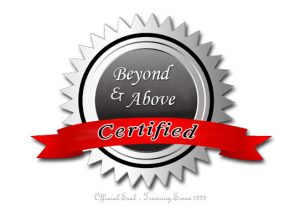 Beyond and Above Certified - Certification